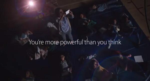 iPhone 5s TV ad