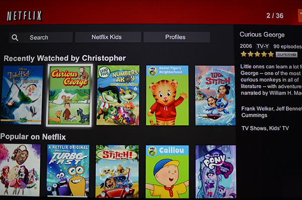 Netflix Fire app