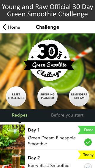 30 day green drink challenge