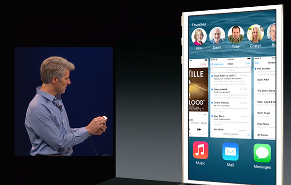 How iOS 8 Allows Quick Access To Recent and Favorite Contacts