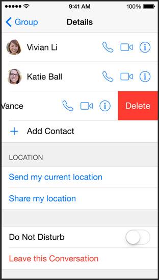 Group messaging do no disturb