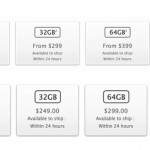 Storage prices iPhone 6