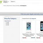 Apple refurbished store eBay