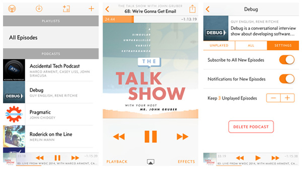 Overcast Podcast Player