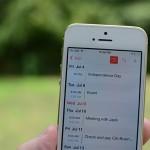 Switch calendar view iOS