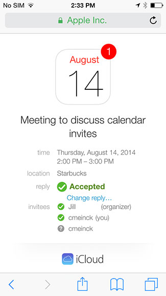 How to accept or send a calendar invite on iphone or ipad the calendar app is a fantastic way for groups families and friends to keep up to date on events sending and accepting calendar invites on ios is a fast stopboris Choice Image