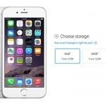 iPhone 6 storage capacity