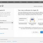 How to setup two-factor verification for Apple ID