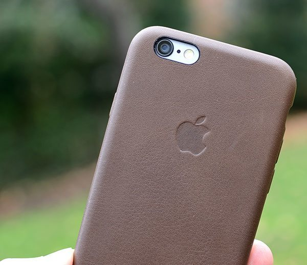 apple leather iphone case apple iphone 6 leather review 6849
