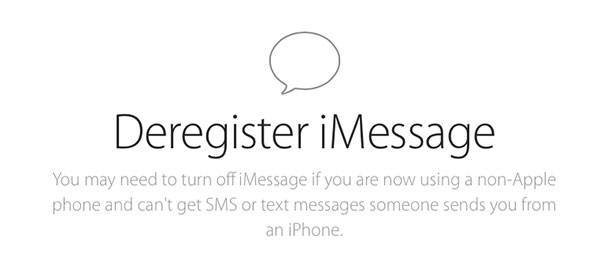 New Apple Web Tool Lets You Deregister Phone Number From iMessage