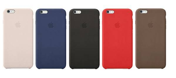 iPhone 6 leather cases colors