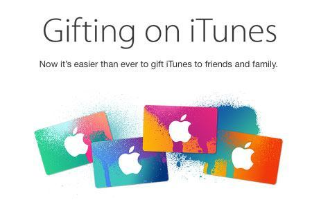 How to send iTunes gift