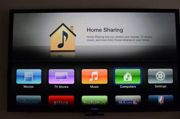 Setup Home Sharing