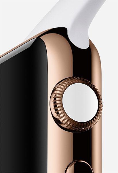 Apple Watch rose gold 18k