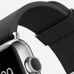 Apple Watch black buckle