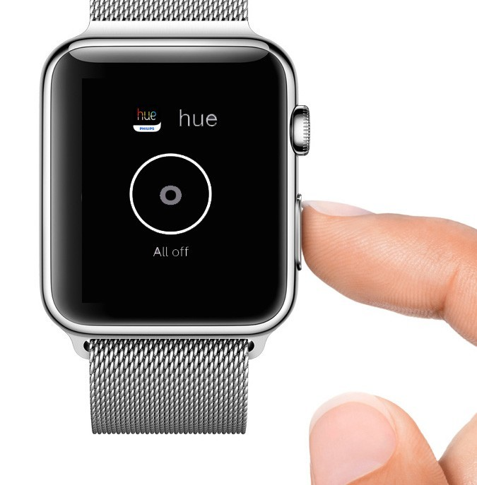 Apple Watch Philips Hue