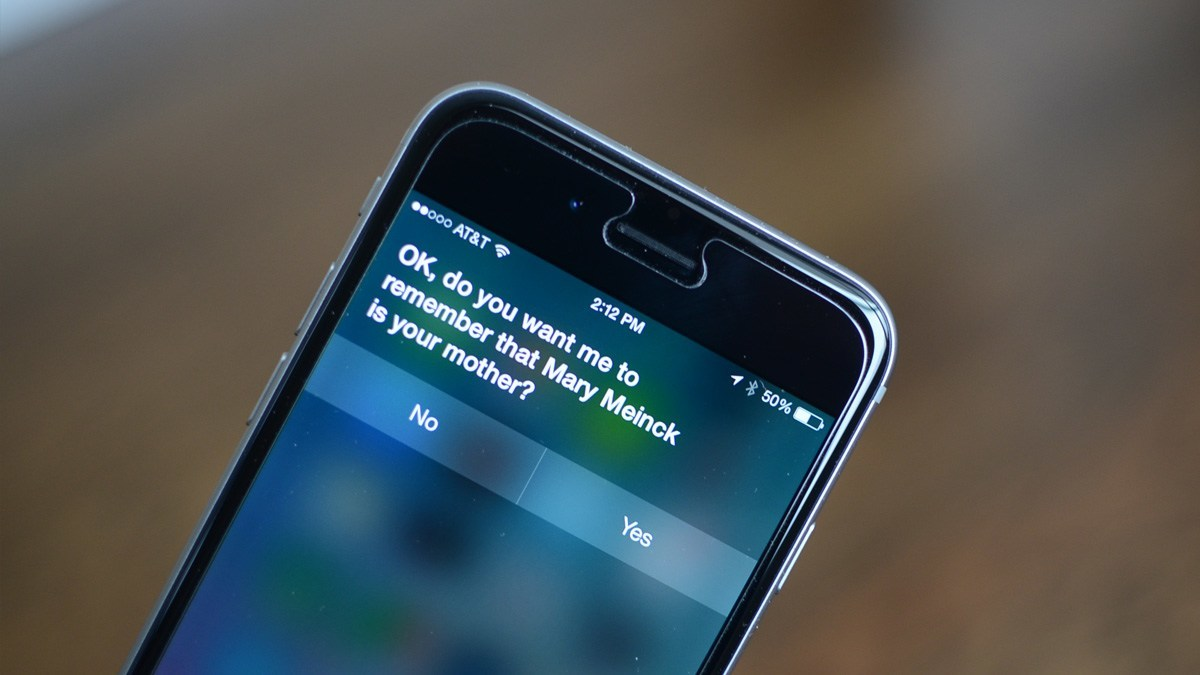 How to set Siri relationships