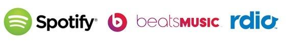 iTunes import Spotify, Beats, Rdio