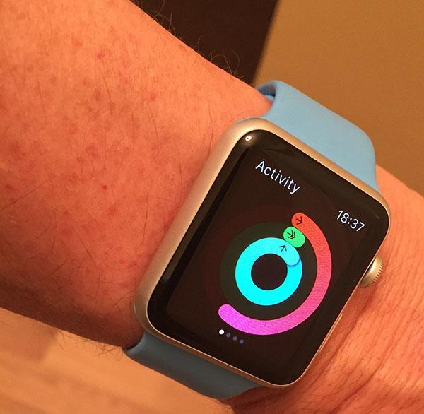 Activity app on Apple Watch