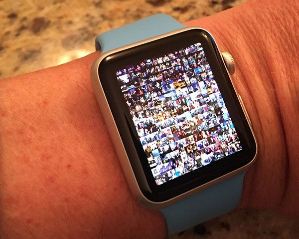 Photos on Apple Watch