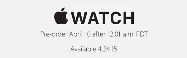 Apple Watch dates