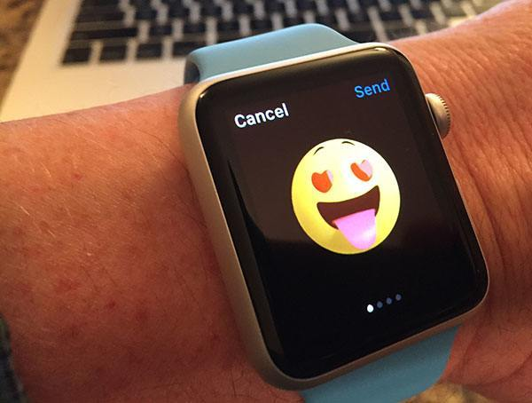 Emoji on Apple Watch