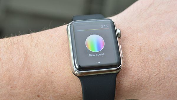 Philips Hue on Apple Watch