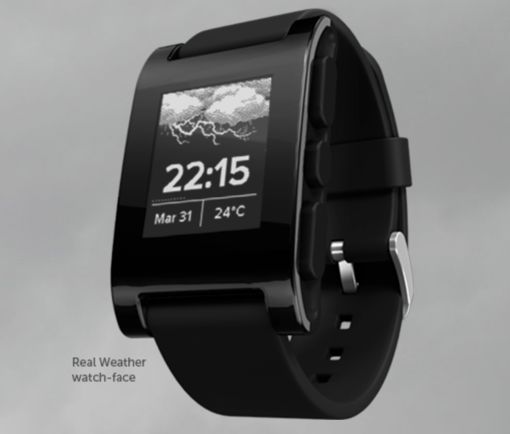 Pebble Watch Screen