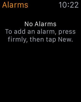 Add new alarm