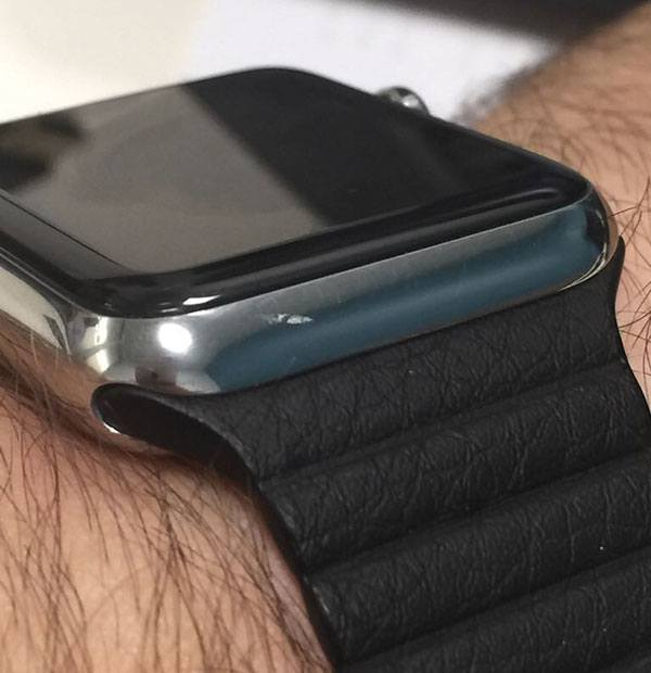 Apple Watch scratch