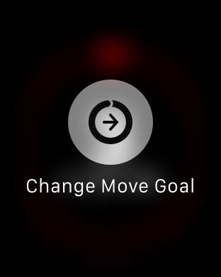 Change move goal