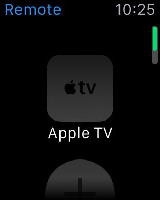 Remote app add Apple TV