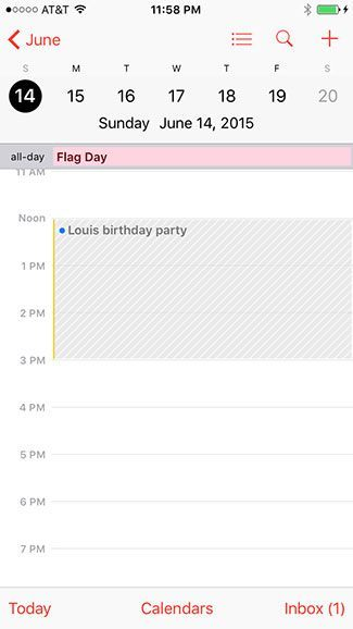 Calendar invites