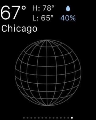 Weather glance